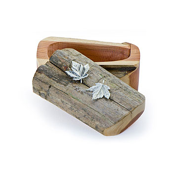 Maple Leafs Driftwood Box