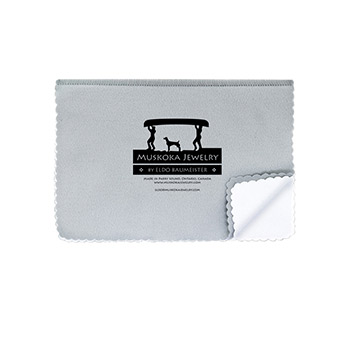 Muskoka Jewelry Polishing Cloth