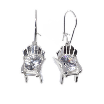 Diamond Muskoka Chair Earrings