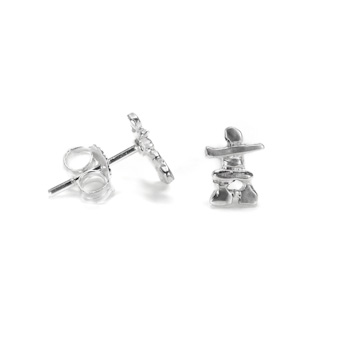 Inukshuk Stud Earrings