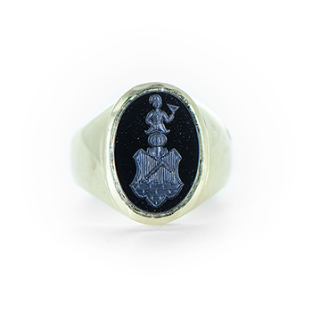Family Crest Seal Ring